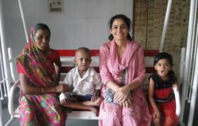 Ipsa, with family of Arjun