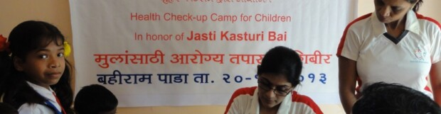 Bahiram Pada – Health-checkup Camp for School Children