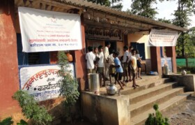 Camp site - Dolhari Gram Panchayat Office.