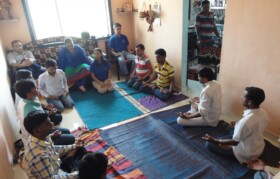 Finally pranayam and aum chanting