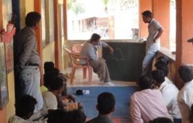 Team Suhrid explaining approach
