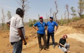 Dharampur experts explaining Team Suhrid