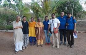 Team Suhrid with very inspiring couple Kokiben/Bhikhubhai