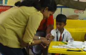 Blood test for every child in four years