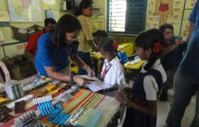 Medicines are explained to children and teachers