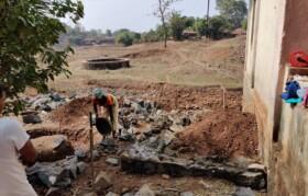 Work to build washroom started